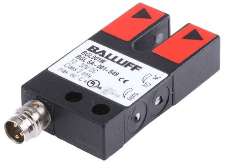 BALLUFF BGL Photoelectric Sensor Through Beam (Fork) 5 mm Detection Range PNP