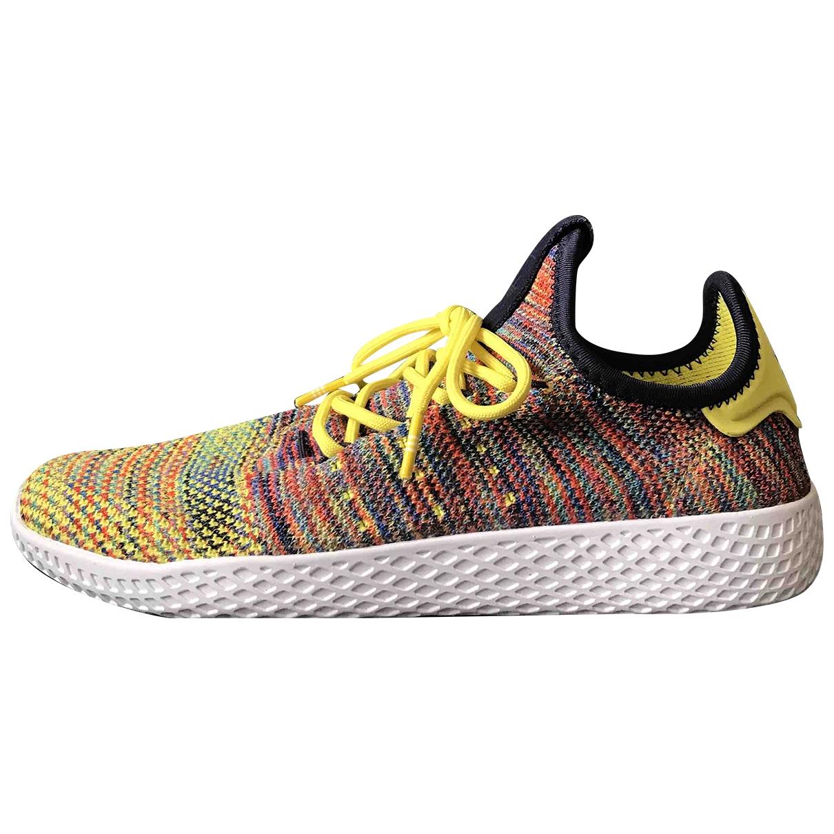 Adidas X Pharrell Williams - Baskets   pour femme en toile - multicolore