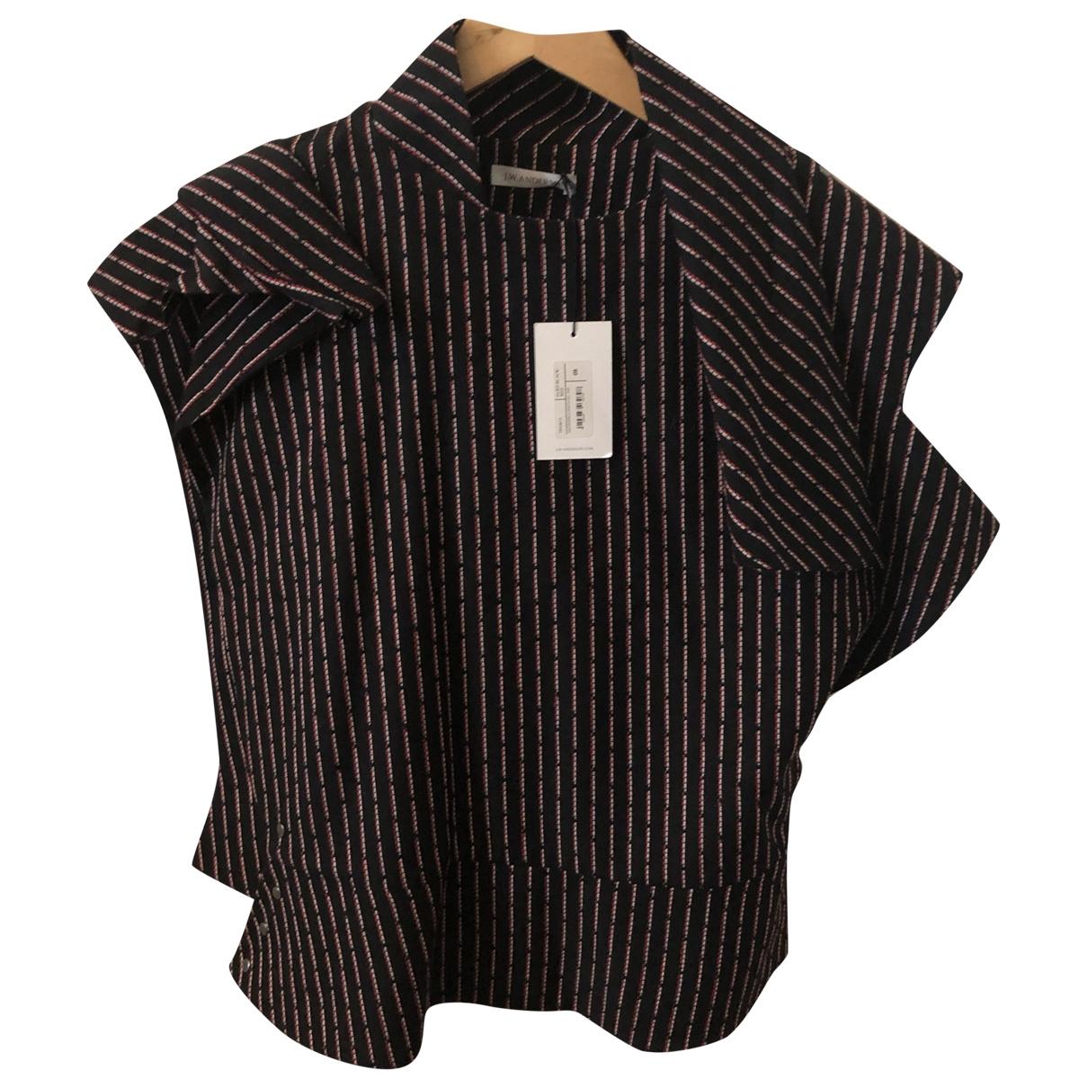 J.w. Anderson \N Black Wool  top for Women 36 FR