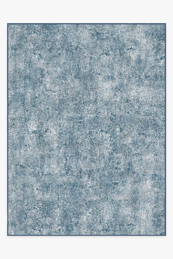 Washable Rug Cover | Serenata Slate Blue Rug | Stain-Resistant | Ruggable | 9x12