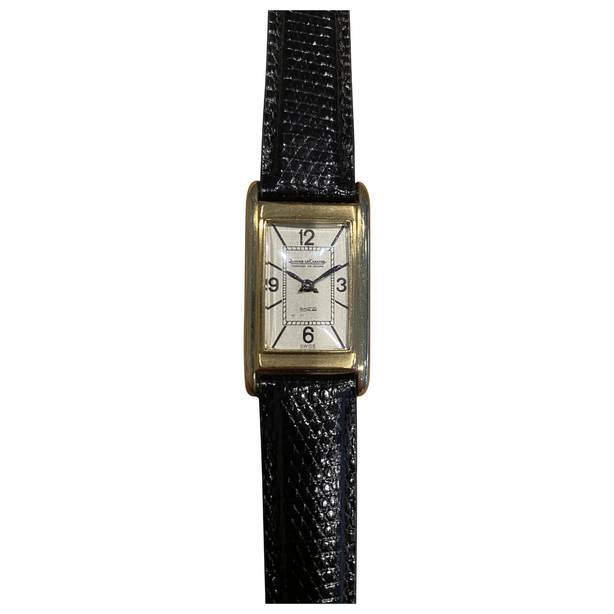 Jaeger-lecoultre \N Uhr in  Bunt Gelbgold