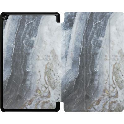 Amazon Fire HD 8 (2017) Tablet Smart Case - Desaturated Marble von Emanuela Carratoni