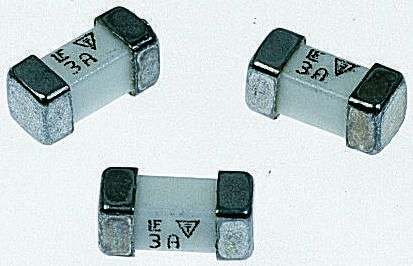Littelfuse 125mA FF Non-Resettable Surface Mount Fuse, 125V (10)