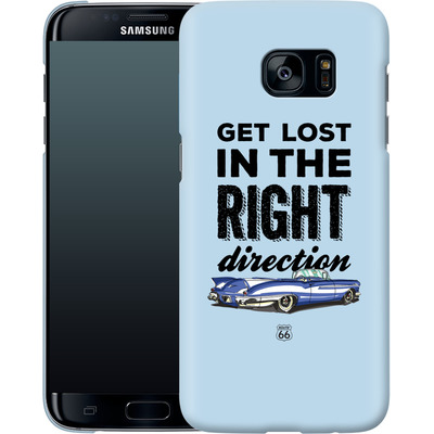 Samsung Galaxy S7 Edge Smartphone Huelle - ROUTE 66 Get Lost in the Right Direction von ROUTE 66