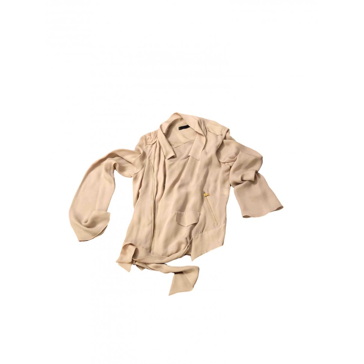 Blusa de Seda Zara