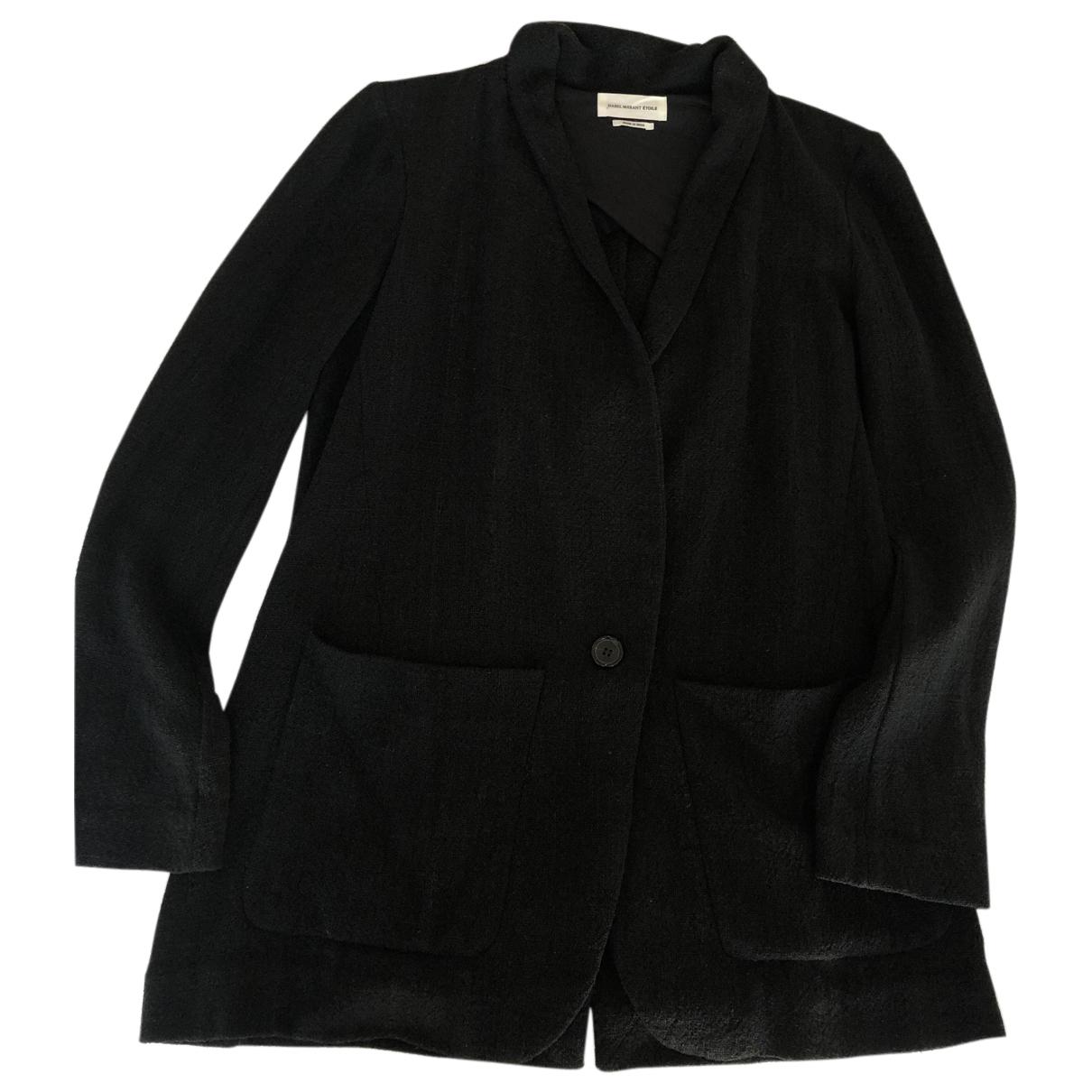 Isabel Marant Etoile - Veste   pour femme en soie - noir