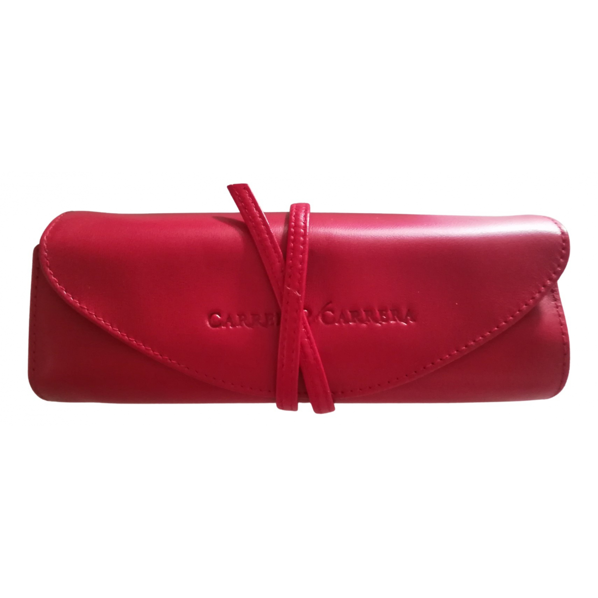 Carrera Y Carrera - Objets & Deco   pour lifestyle en cuir - rouge