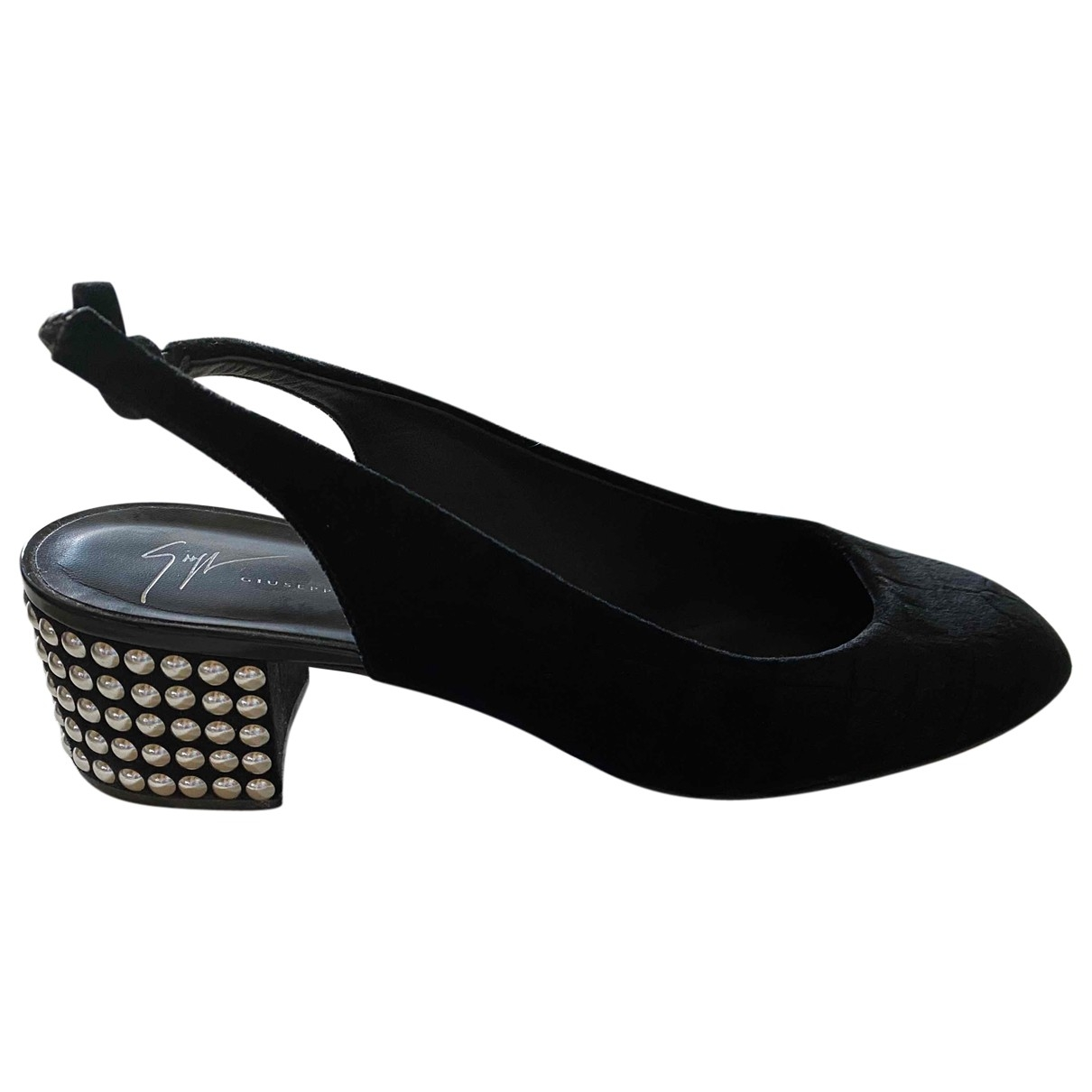 Giuseppe Zanotti - Escarpins   pour femme en velours - noir