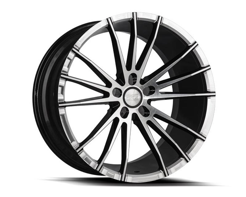 Concept One C1218 2085 30 55 BKF CSM01 Black Wheel 20x8.5 5x114.3 30mm