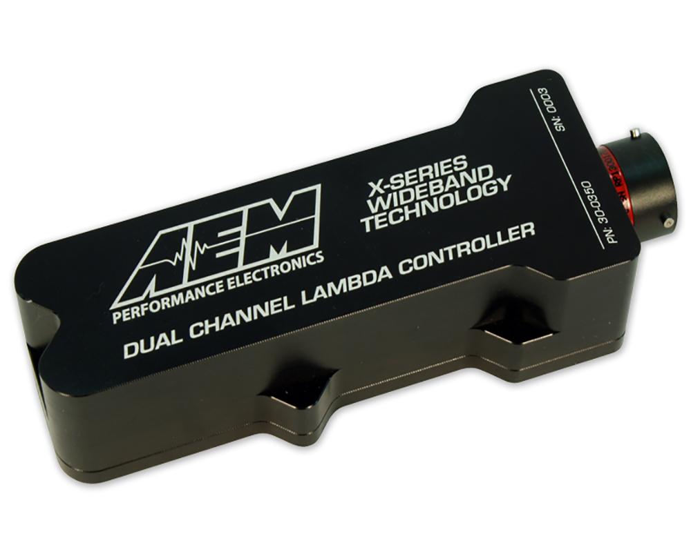 AEM Electronics 30-0350 X-Series Pro Inline Dual Channel Wideband UEGO AFR Sensor Controller
