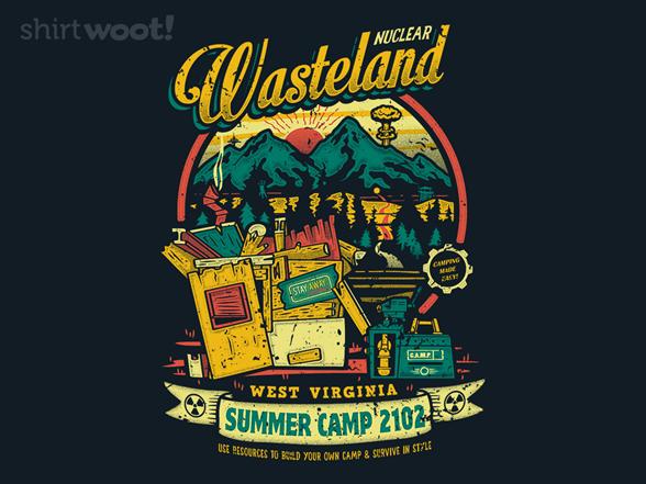 Nuclear Summer Camp T Shirt