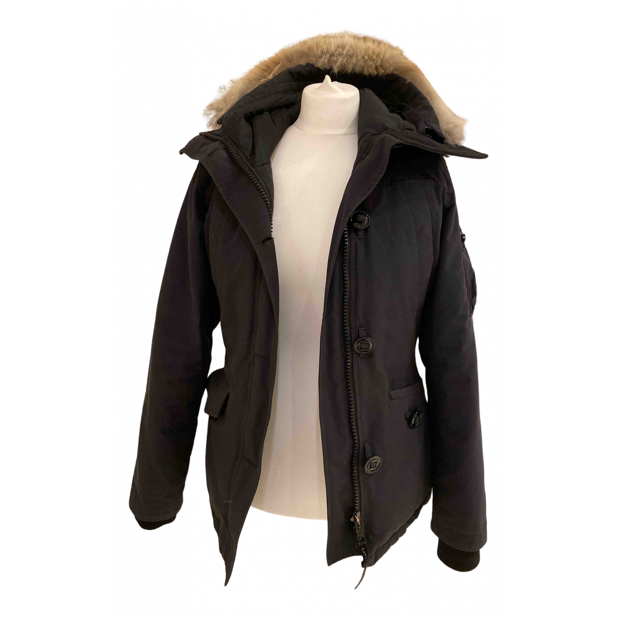 Canada Goose - Manteau Kensington pour femme - noir