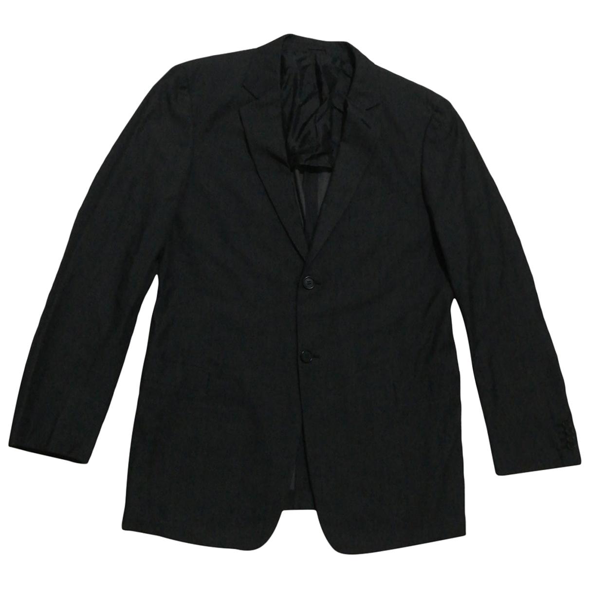 Giorgio Armani N Grey Cotton jacket  for Men 48 IT