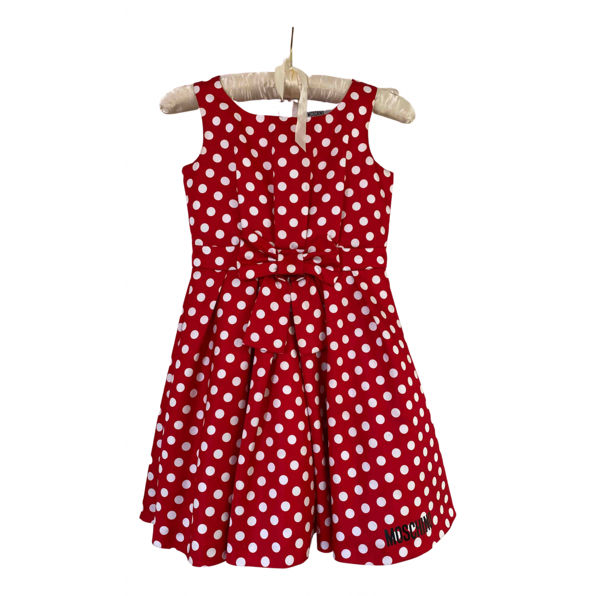 Moschino \N Kleid in  Rot Polyester