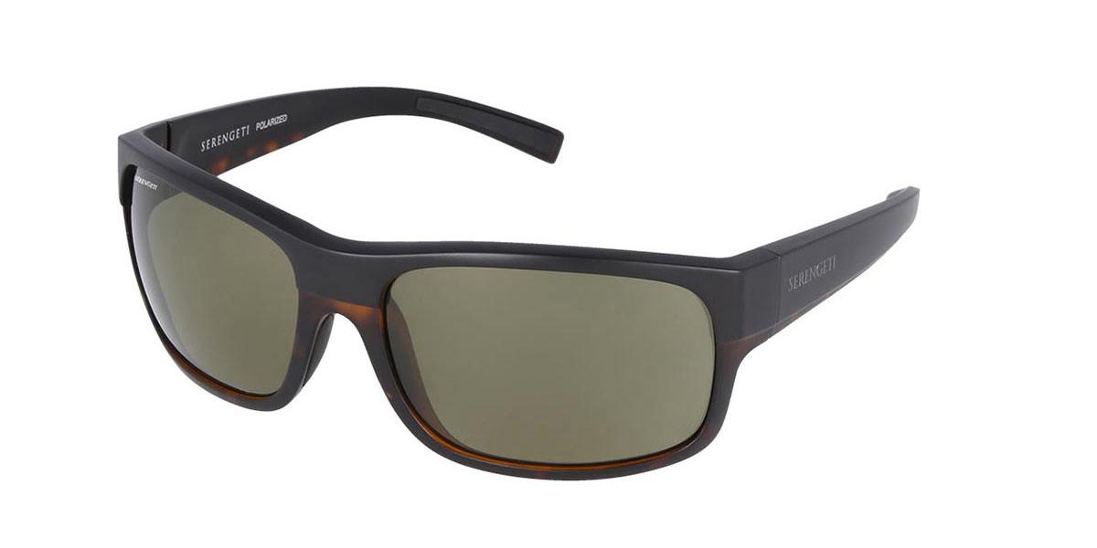 Serengeti Bergamo Polarized 8805 Mens Sunglasses Multicolor Size 62