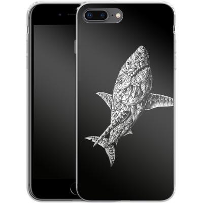 Apple iPhone 7 Plus Silikon Handyhuelle - Great White von BIOWORKZ