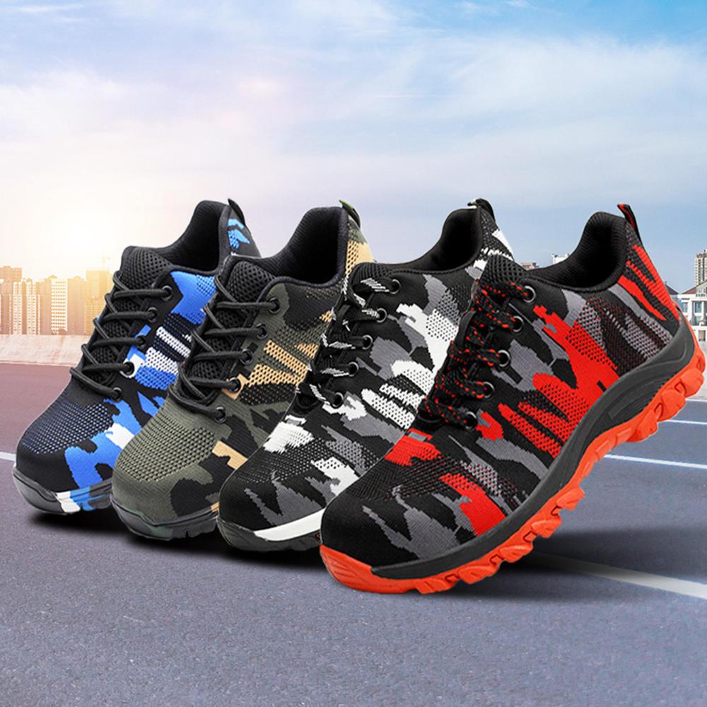 Breathable Mesh Slip Resistant Outdoor Sneakers