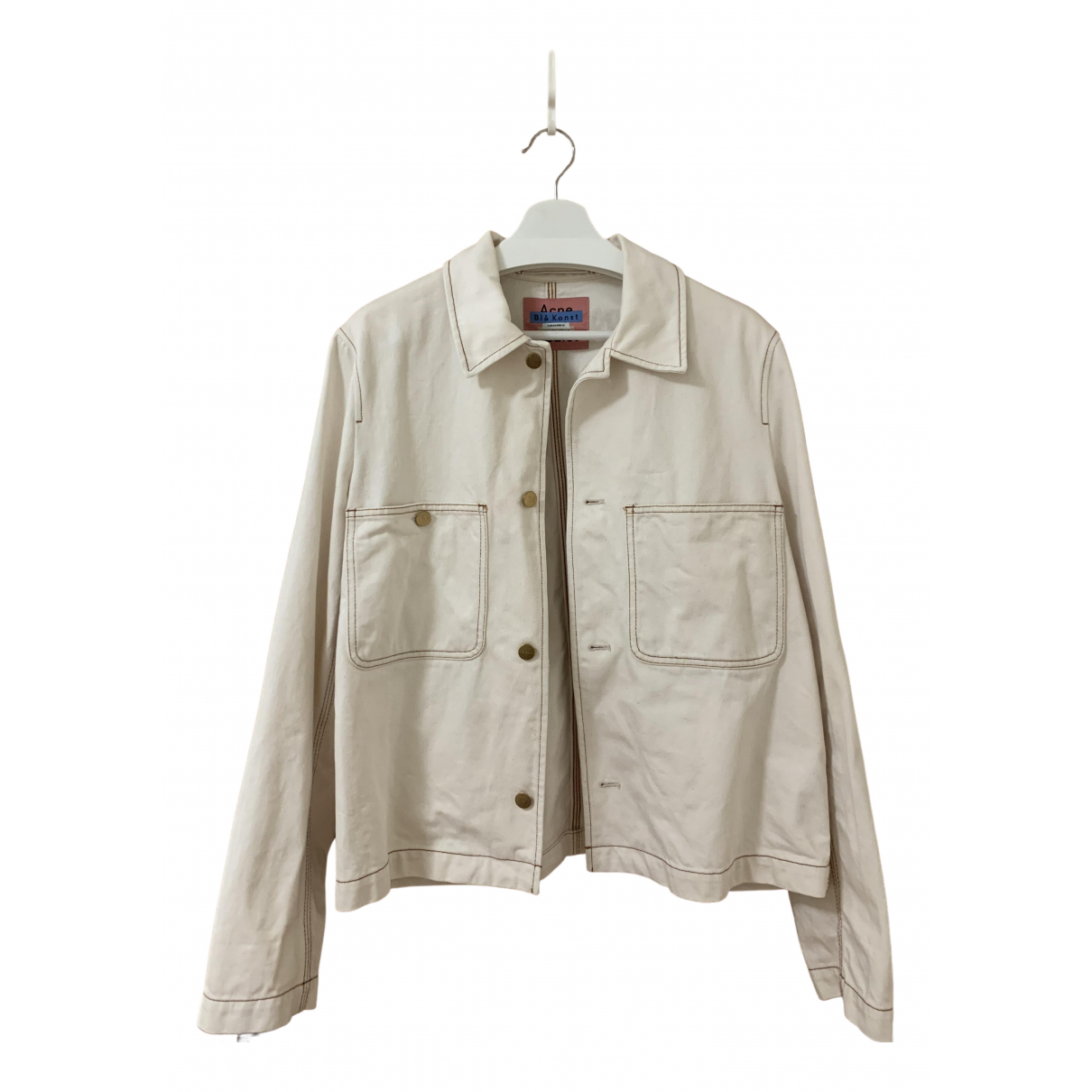 Acne Studios \N Ecru Cotton jacket  for Men XS International