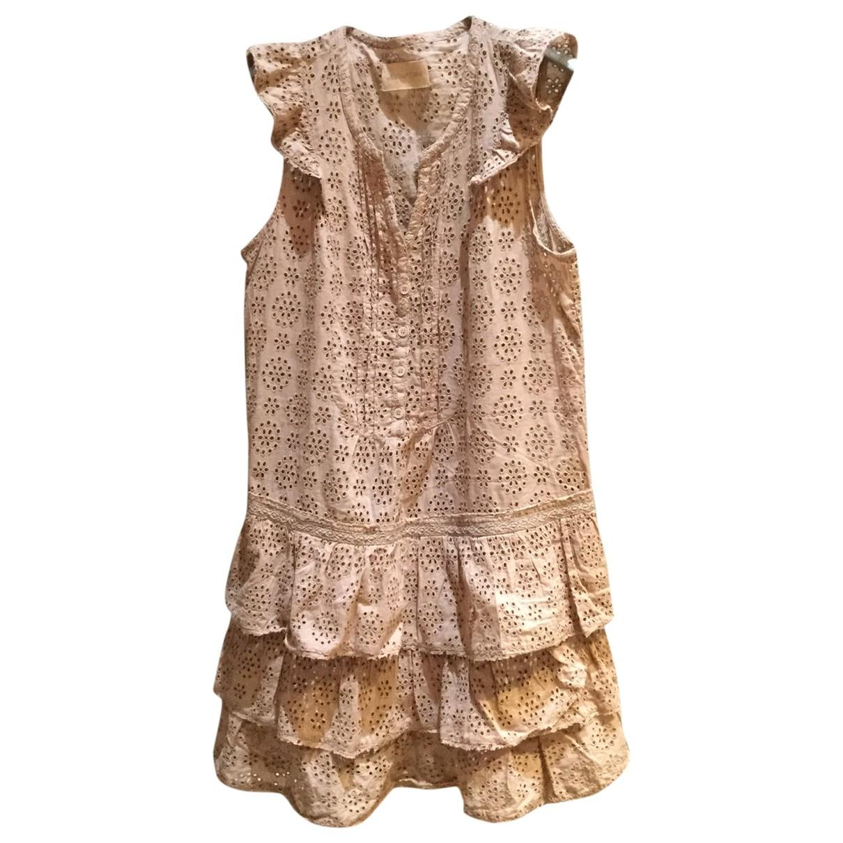 Zadig & Voltaire - Robe   pour femme en coton - rose