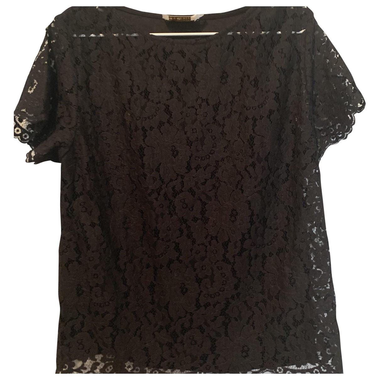 Zimmermann - Top   pour femme en dentelle - noir