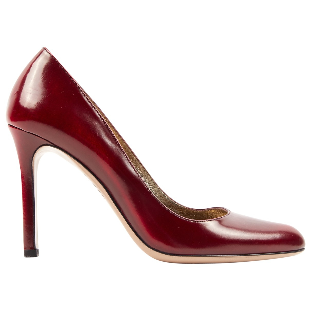 Valentino Garavani \N Pumps in  Rot Leder