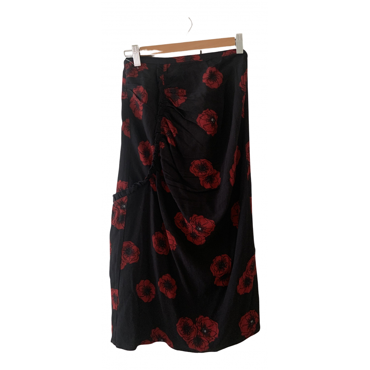Rouje \N Black Cotton skirt for Women 36 FR