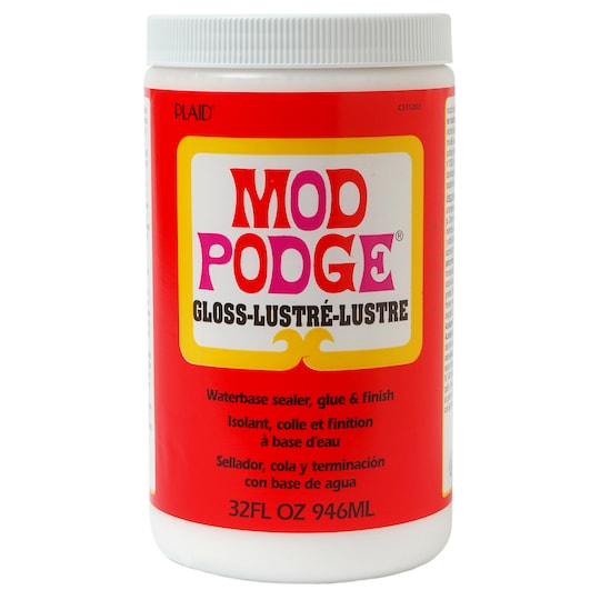 Mod Podge® Gloss in Clear | 32 oz | Michaels®
