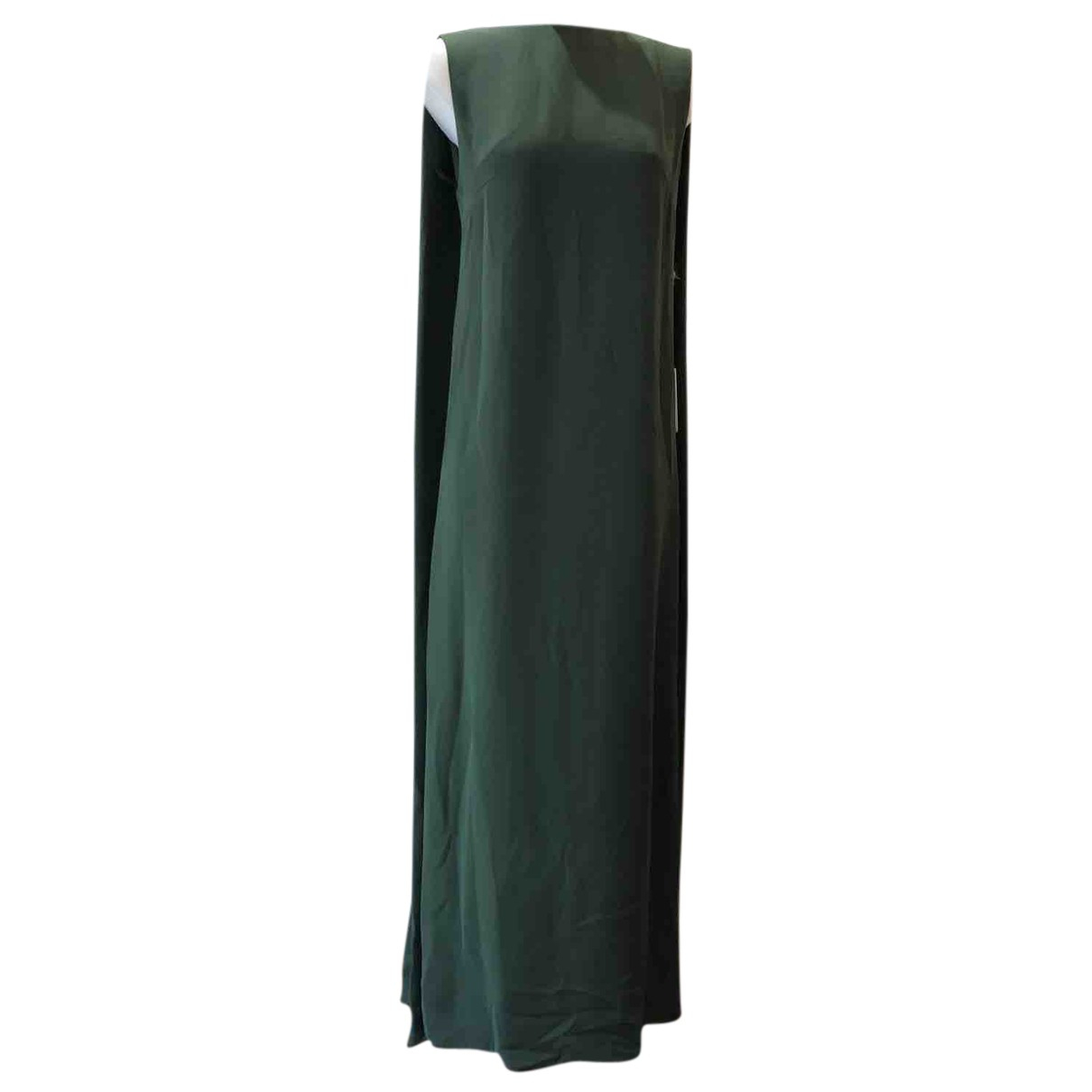 Valentino Garavani N Green Silk dress for Women 44 IT