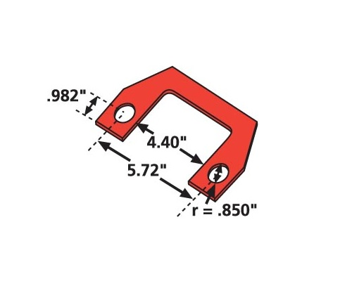 SPC Performance 36003 P/K Thrust Shim 1/8 (6)