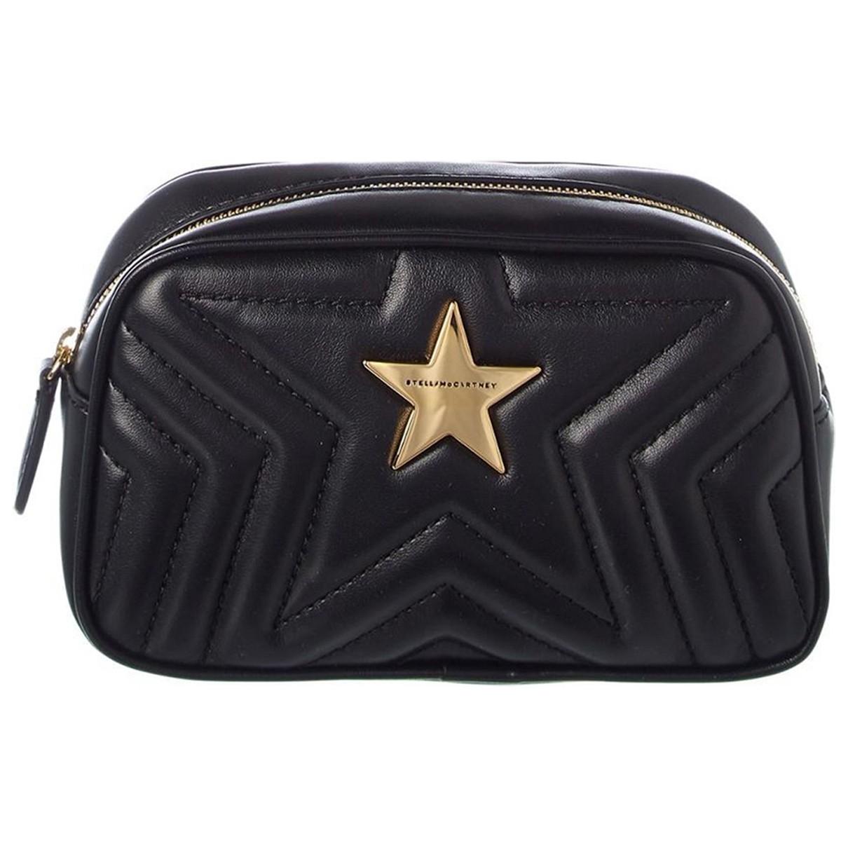 Bolsos clutch Stella Star en Sintetico Negro Stella Mccartney