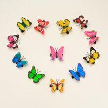 12pcs Girls Butterfly Hair Clip