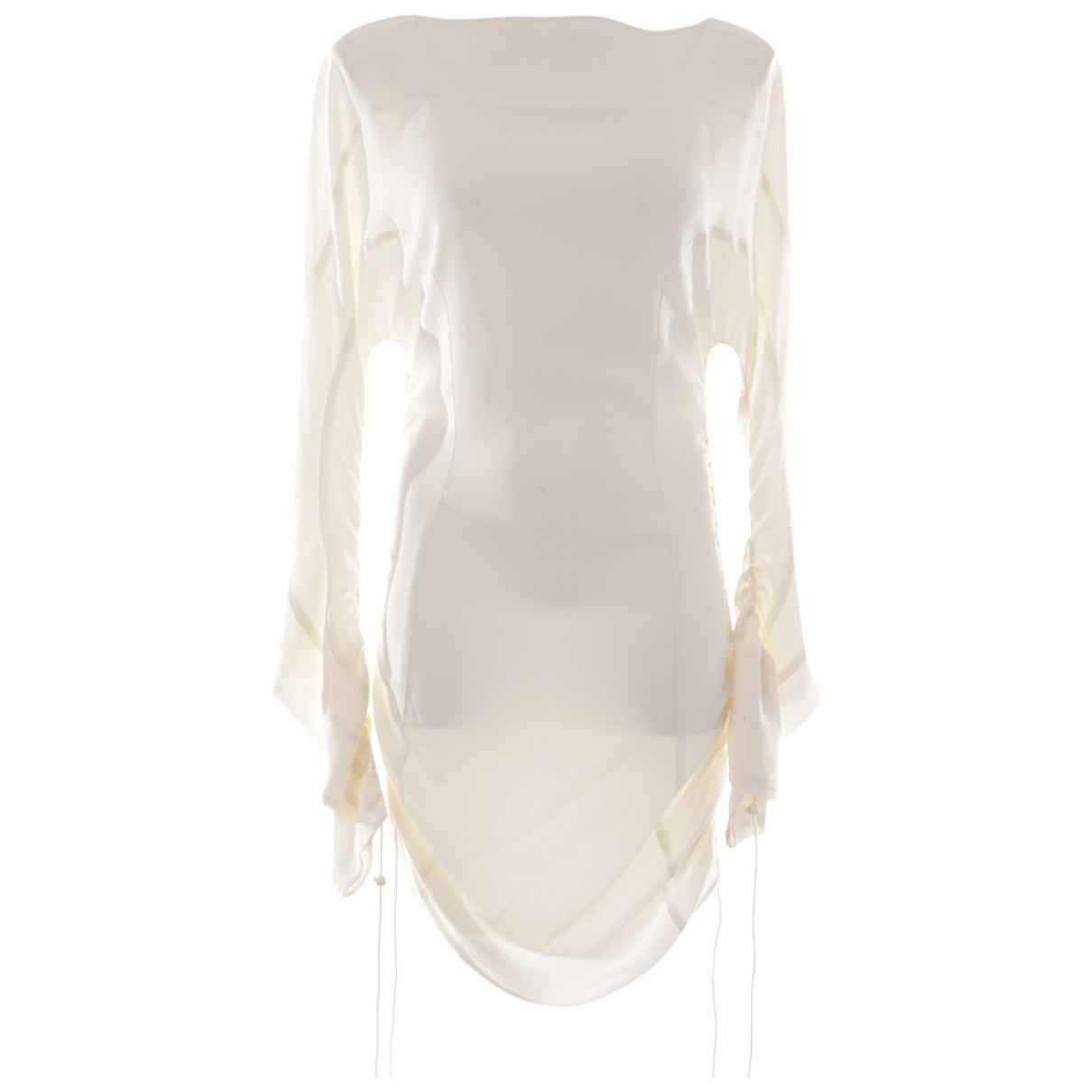 Thierry Mugler \N White dress for Women 36 FR