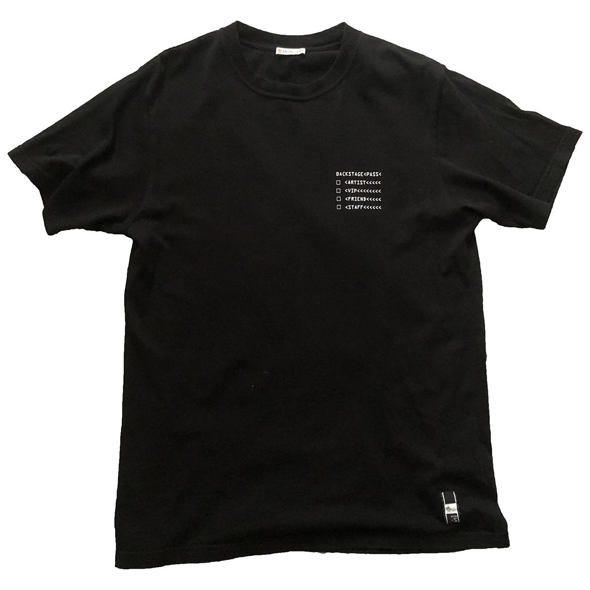 Moncler Genius - Tee shirts   pour homme en coton - noir