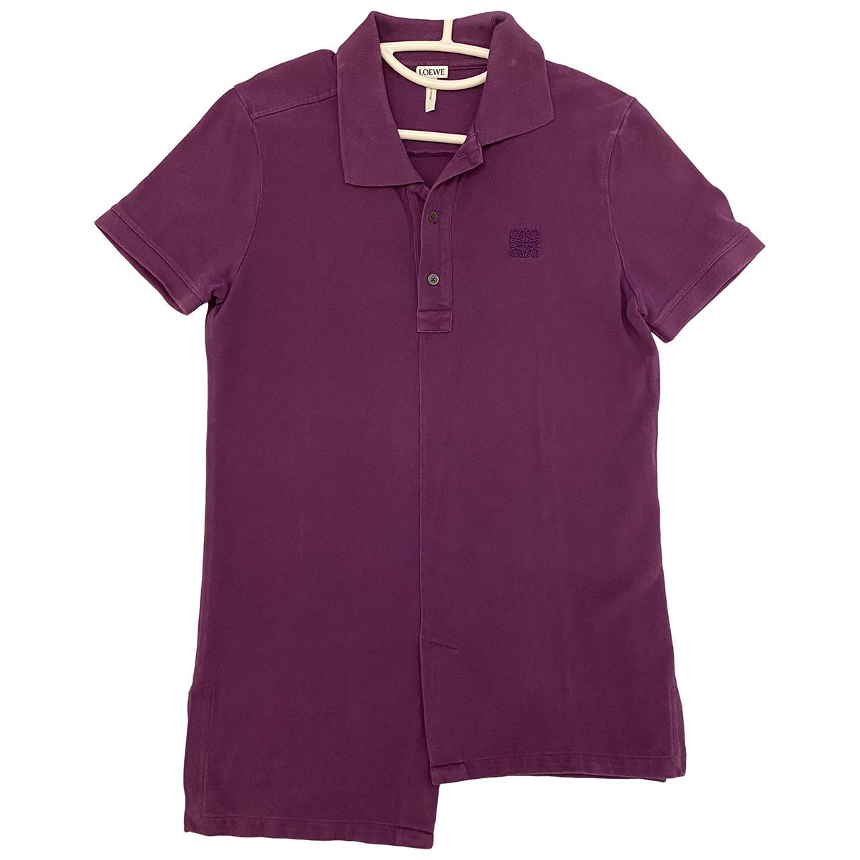 Loewe N Purple Cotton Polo shirts for Men S International