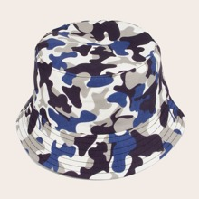 Guys Camo Pattern Bucket Hat
