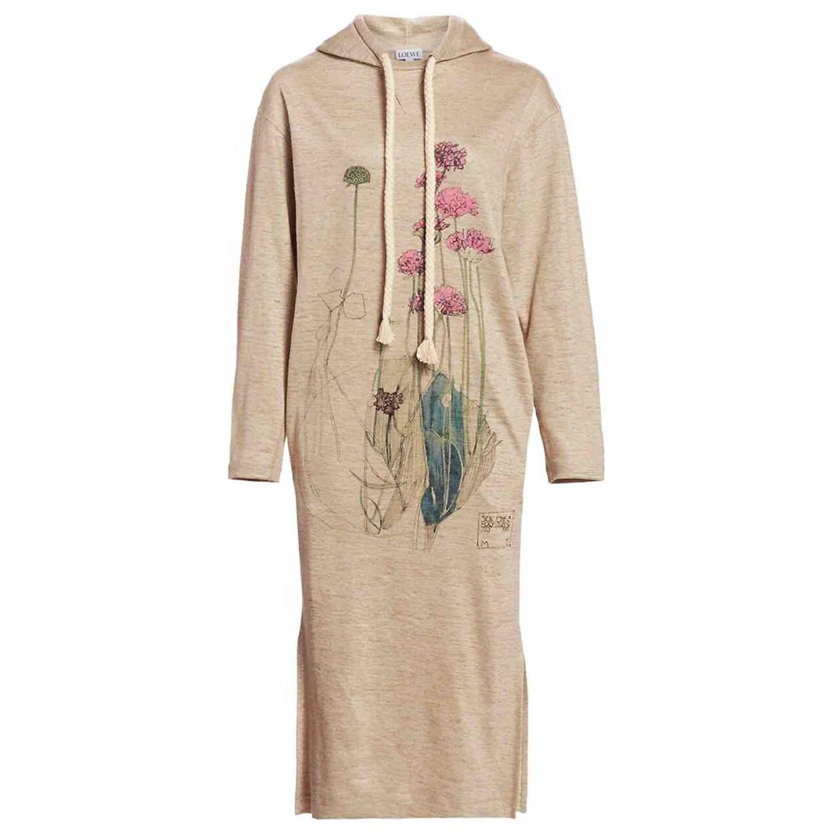 Maxi vestido de Lino Loewe