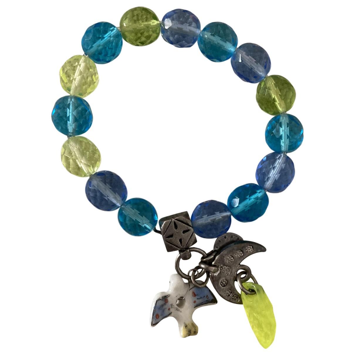 Reminiscence \N Blue Pearls bracelet for Women \N