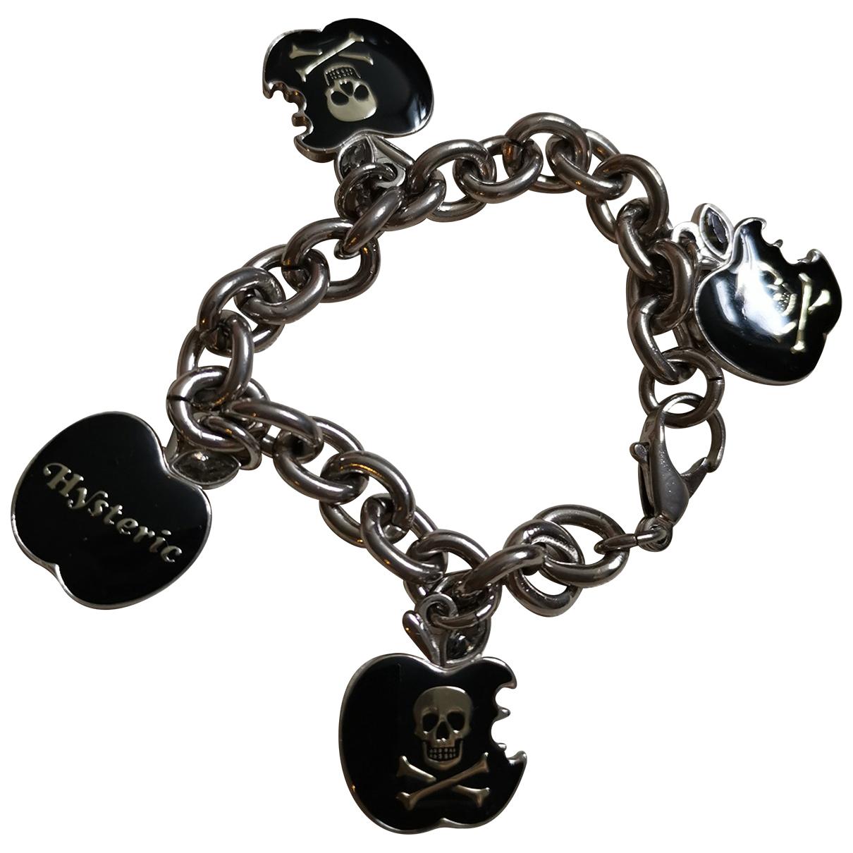 Hysteric Galmour - Bracelet   pour femme en acier - noir
