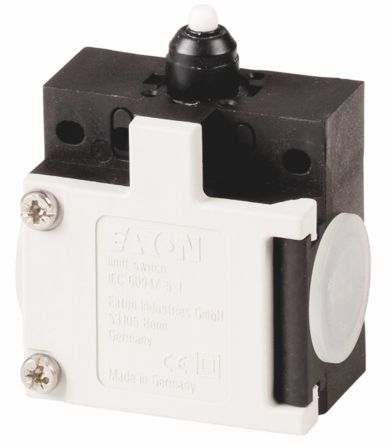 Eaton , Slow Action Limit Switch - Plastic, 2NC, Plunger, 415V, IP65