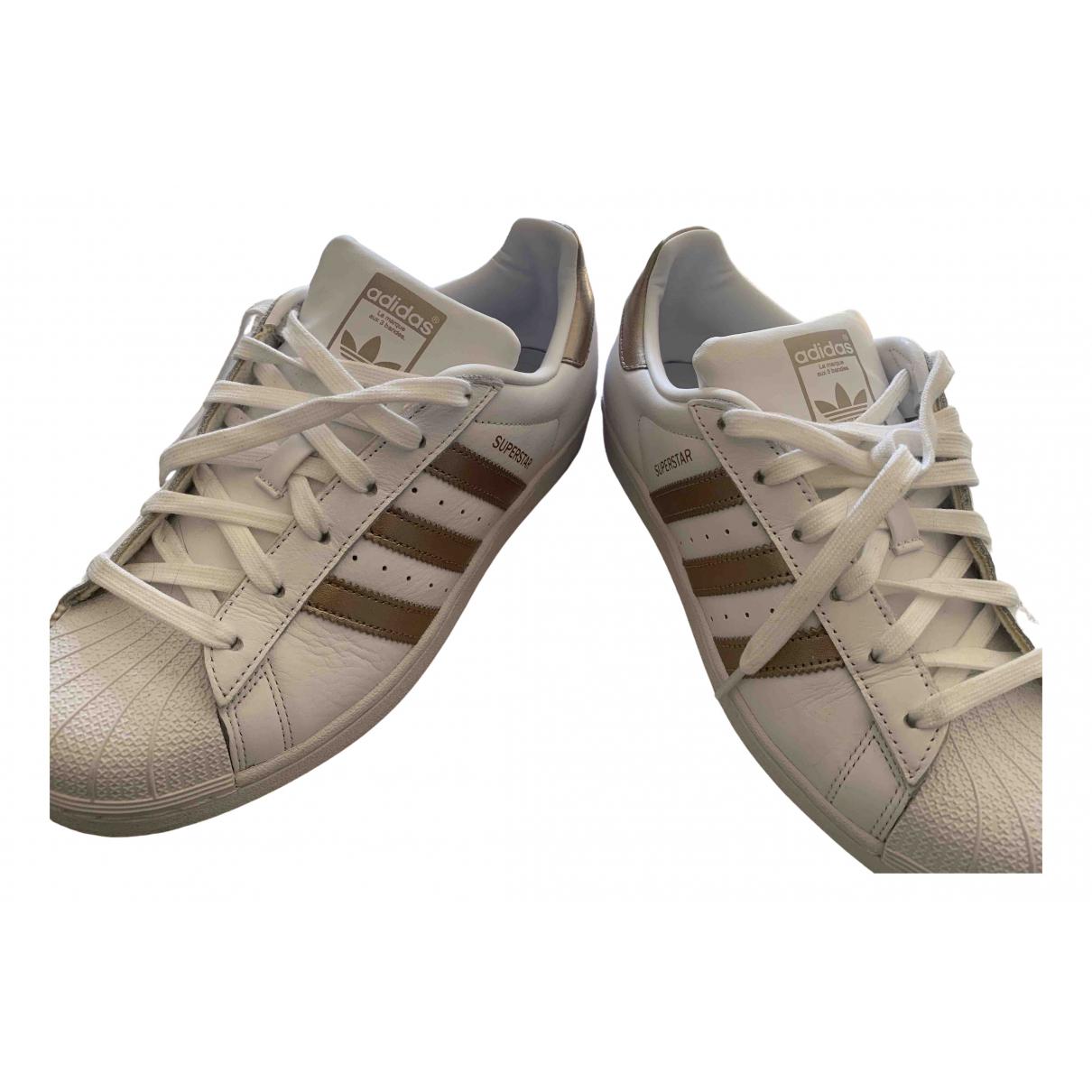 Adidas \N Sneakers in  Gold Leder
