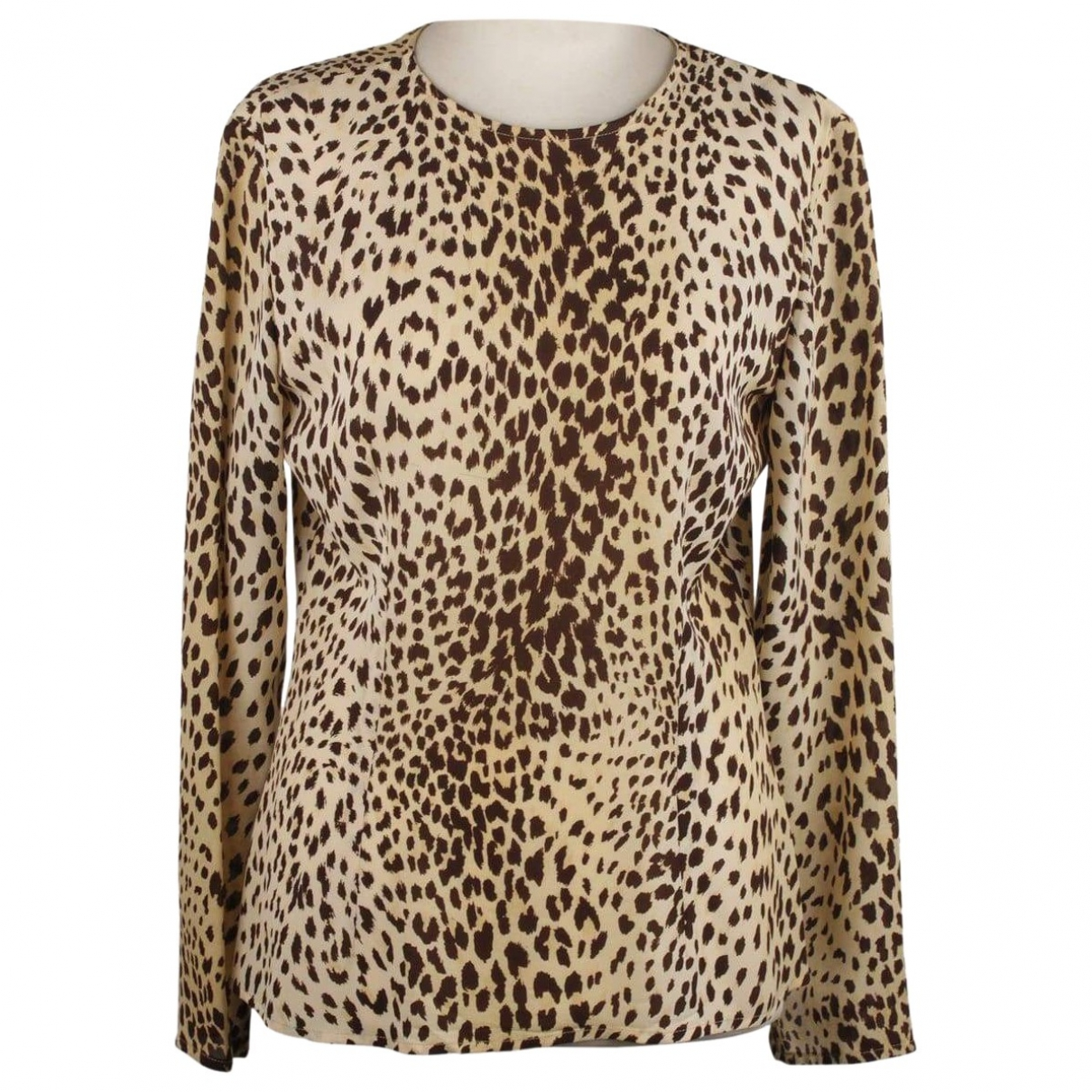 Valentino Garavani \N Brown Silk  top for Women S International