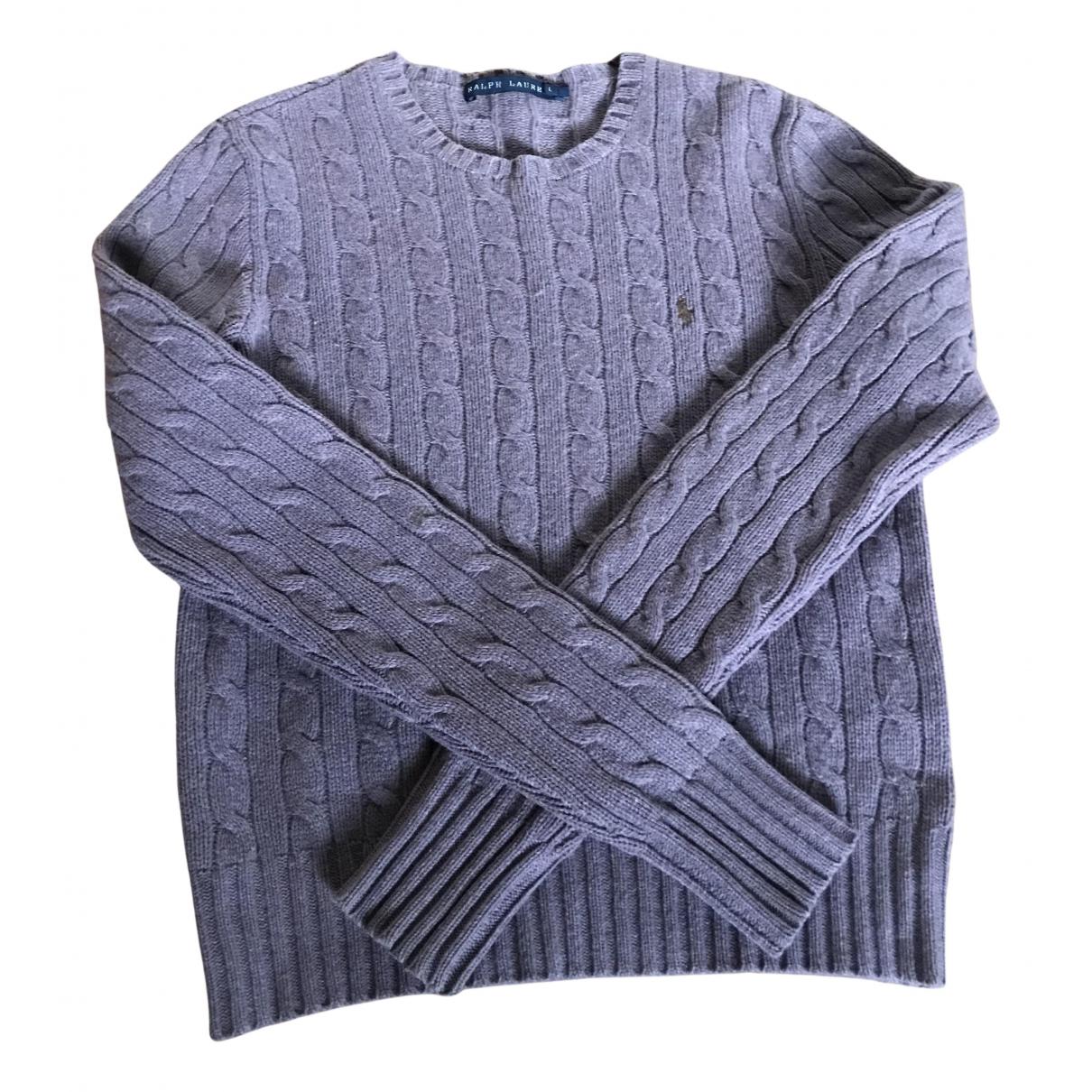 Ralph Lauren - Pull   pour femme en laine - violet