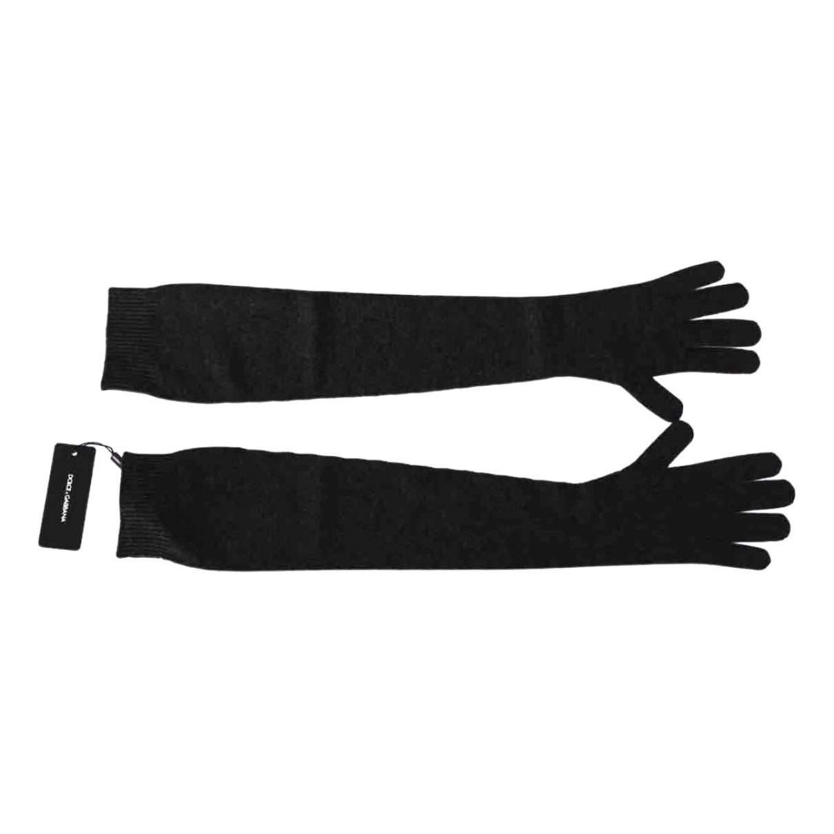 Dolce & Gabbana \N Handschuhe in  Schwarz Kaschmir