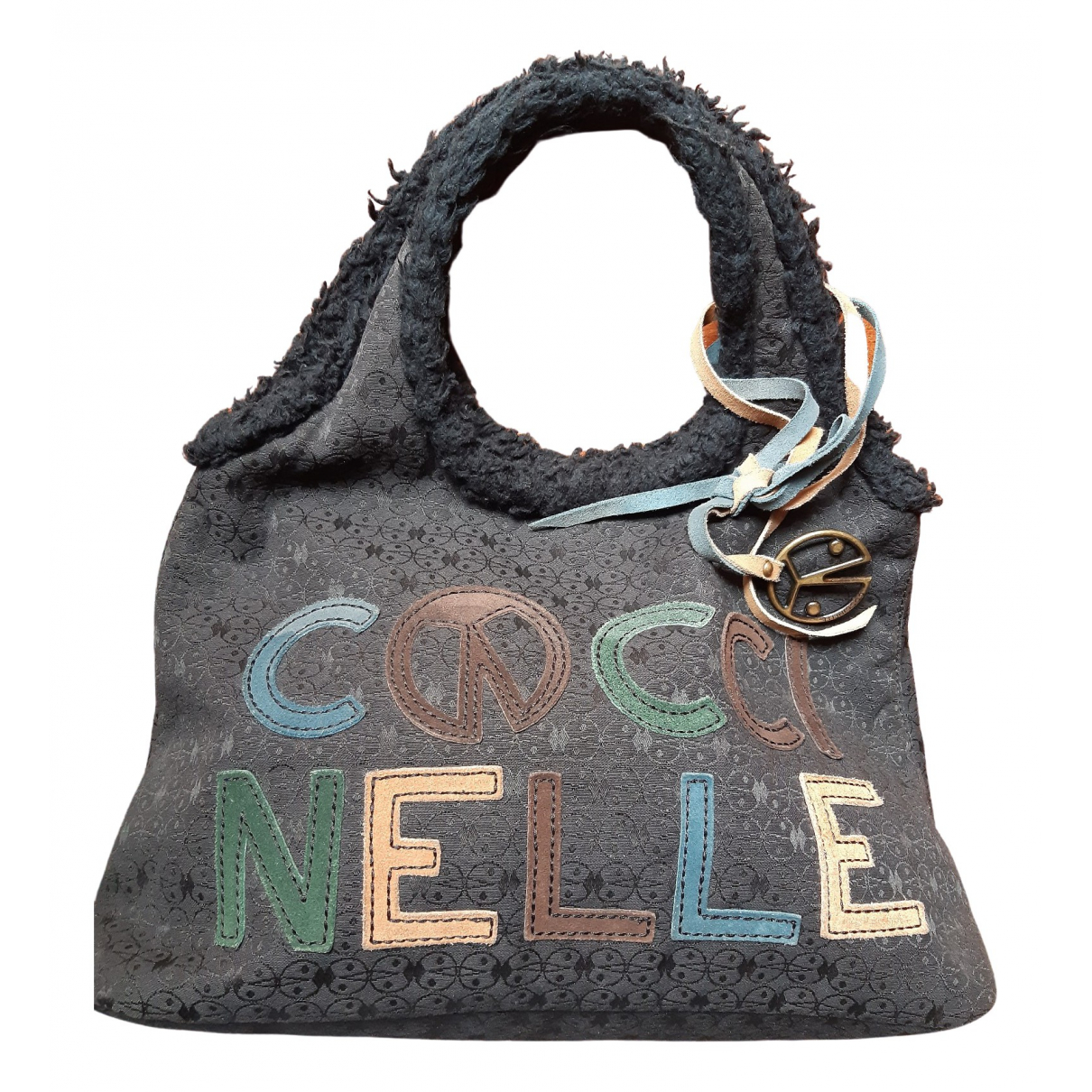 Coccinelle \N Blue Wool handbag for Women \N
