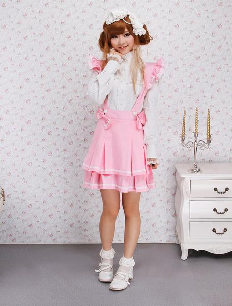 Milanoo Falda de Lolita con tirantes