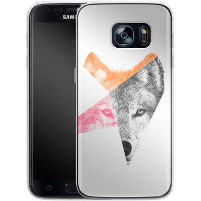 Samsung Galaxy S7 Silikon Handyhuelle - Wild von Eric Fan