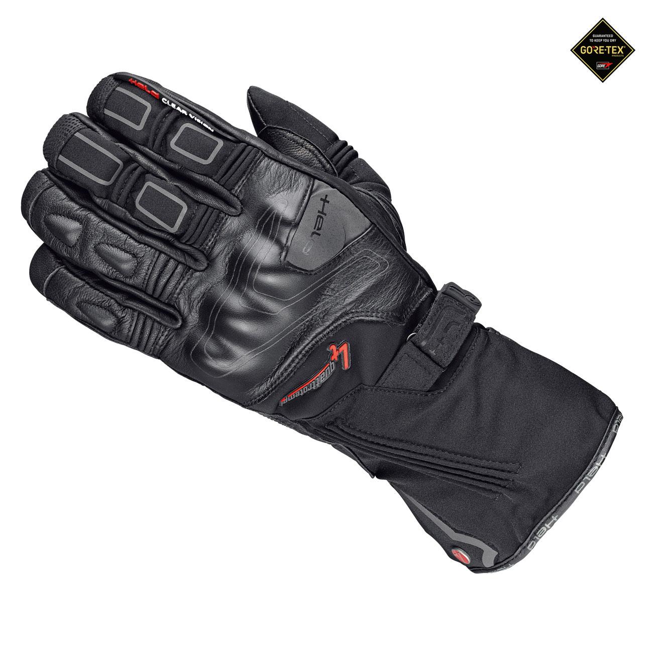 Held Cold Champ Gore-Tex + Gore Grip Technology Guantes De Moto Negro 11