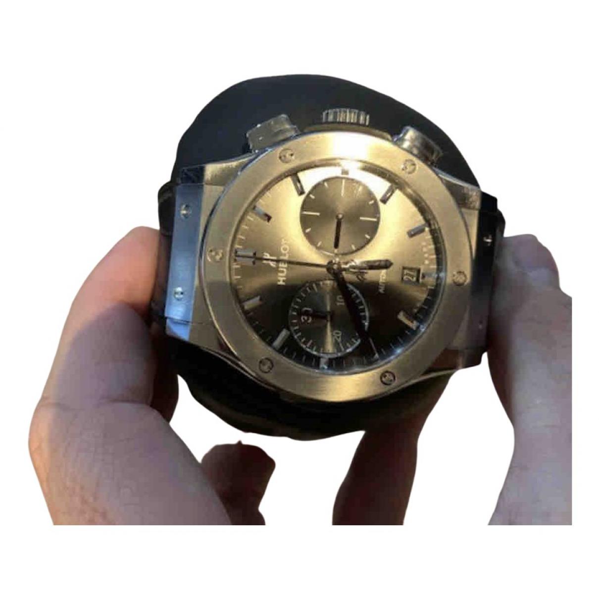 Hublot Classic Fusion Uhr in  Grau Titan