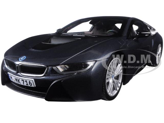 BMW i8 Sophisto & Frozen Grey 1/18 Diecast Model Car by Paragon