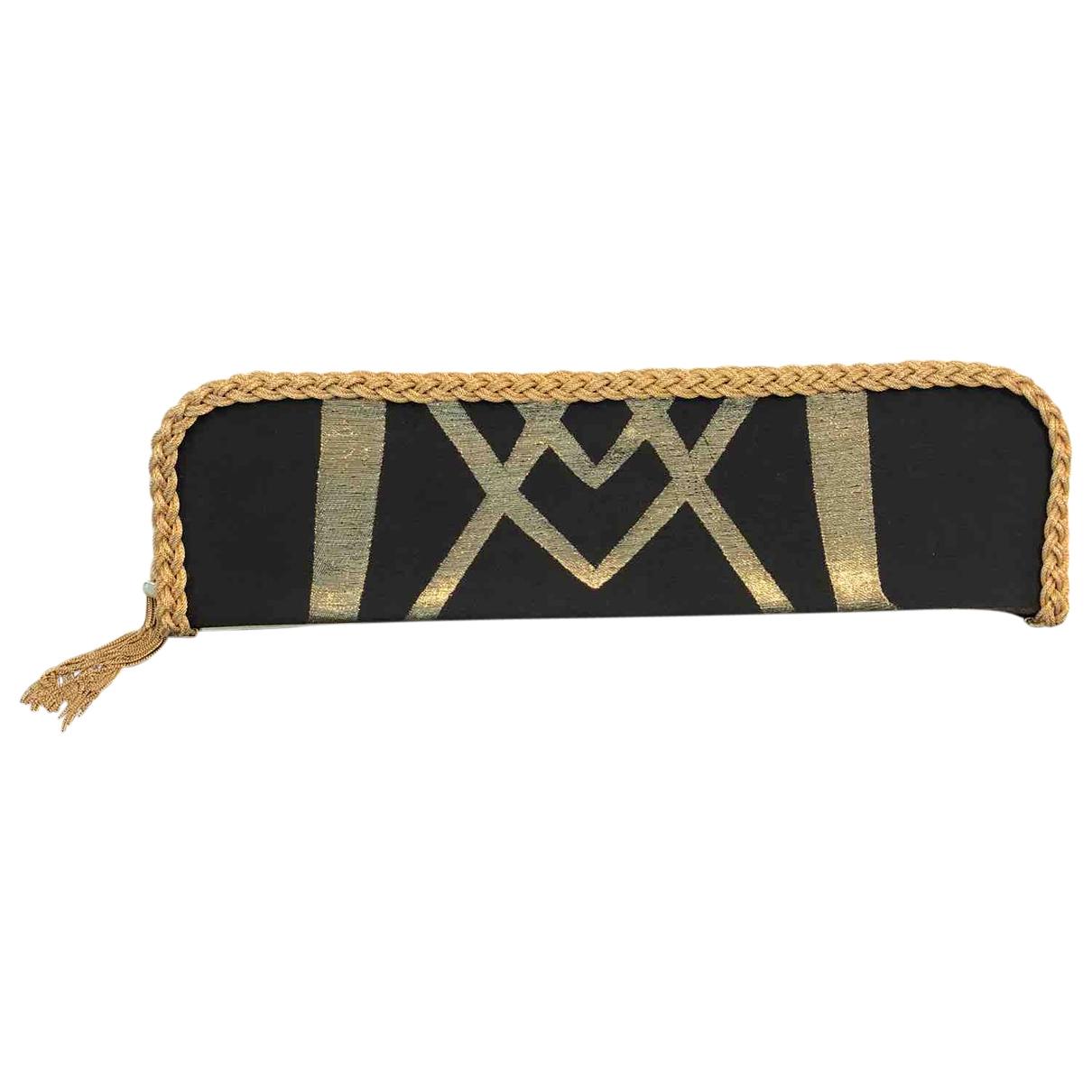 Azzaro \N Black Cloth Clutch bag for Women \N